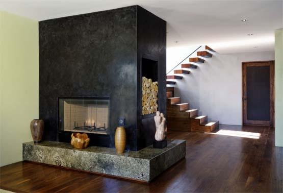 kominki nowoczesne. Black Bedroom Furniture Sets. Home Design Ideas